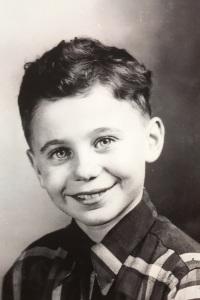 Jim Gledhill, age 6